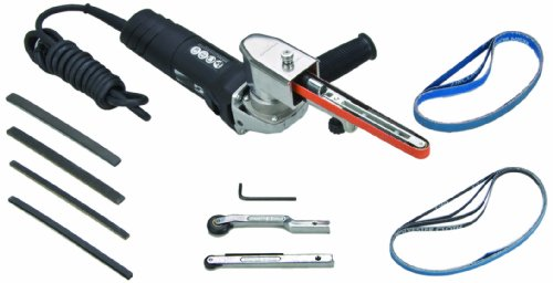 Dynabrade 40611 Electric Dynafile II Abrasive Belt Tool Versatility Kit, Black from Dynabrade