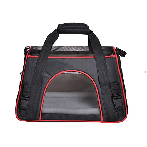 Accmor-Multi-use-Airline-Approved-Pet-Carrier-Soft-Sided-Dog-Carrier-with-Fleece-Pad-Portable-Pet-Travel-Carrier-for-Cats-Small-Dogs-and-Other-Small-Animals-Durable-Comfortable