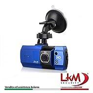 'Caméra pour voiture en HD 1080P Excellente qualité des images avec écran intérieur de 2,7Grand Angle de 148°