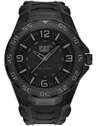 Mens LB11121131 Motion Analog Display Quartz Black Watch. CAT WATCHES