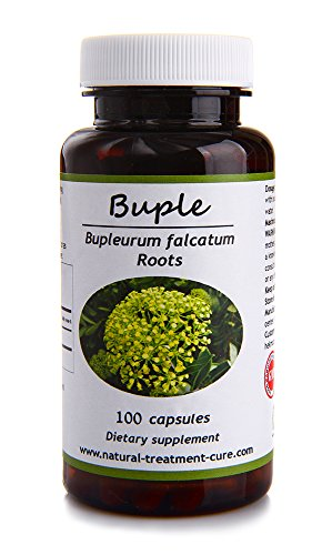 Hekma Center- Organic Bupleurum-100 Capsules for Liver Cleansing and Detoxification-Vegan by Hekma Center