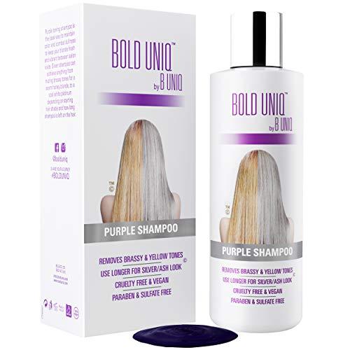 Purple Shampoo for Blonde Hair Blonde Shampoo Eliminates Brassy Yellow Tones Lightens Blonde