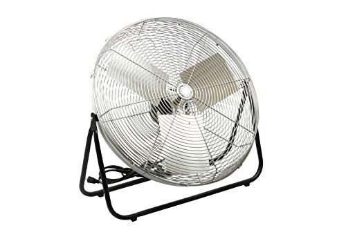 TPI Corporation F24-TE Industrial Workstation Floor Fan, Single Phase, 24