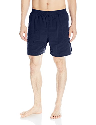 TYR Men's Classic Deck Swim Shorts, Navy, Medium (Tyr Deck Apparel)