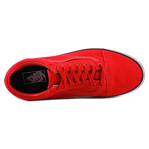 Vans Männer Old Skool Core Classics Rot, Weiß, Schwarz
