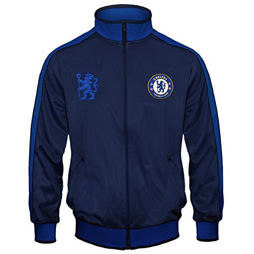 (Chelsea Football Club Official Gift Boys Retro Track Top Jacket 10-11 Years LB)