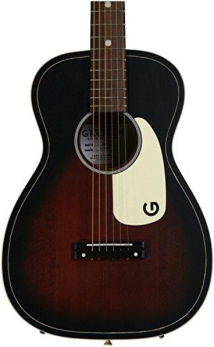 Body Vintage Guitar Acoustic - Gretsch G9500 Jim Dandy Flat Top - Vintage Sunburst