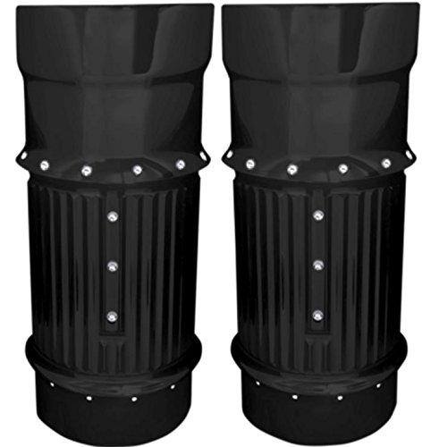 Covingtons Dimpled Fork Bellows - Black C1112B