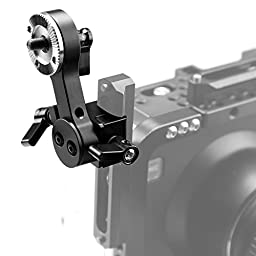 Smallrig Standard Arri Style Rosette EVF Mount for NATO Rail System and Zacuto Gratical HD EVF-1583