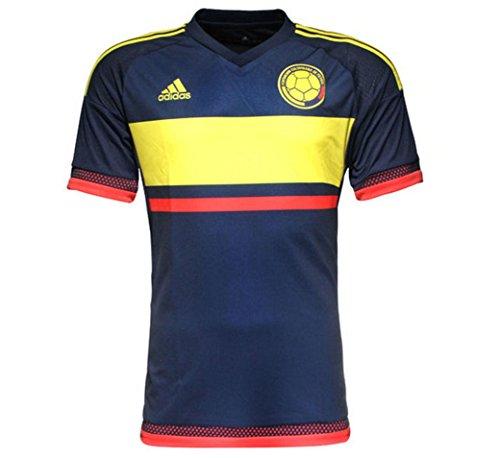 人間推進力麻酔薬ADIDAS COLOMBIA AWAY FOOTBALL SHIRT 2015-16/サッカーユニフォーム コロンビア アウェイ用 背番号なし 2015-16
