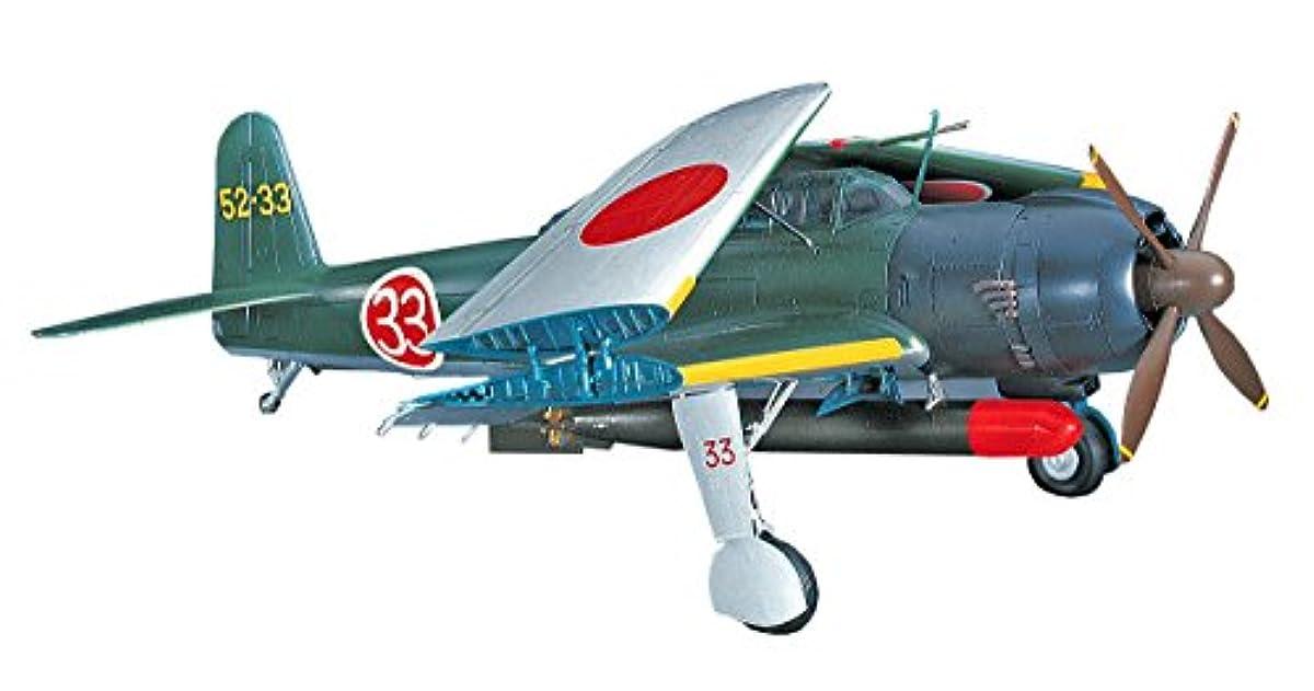 [해외] 하세가와 1/48 일본 해군 나카시마 B6N2 함상 공격기 천산 12퍼터입 프라모델  JT61