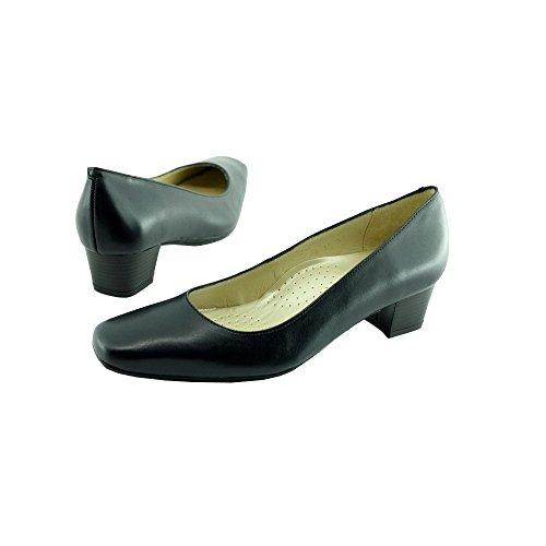 Zapatos de Tacón Azul Azafatas Edipo C-Azul Marino