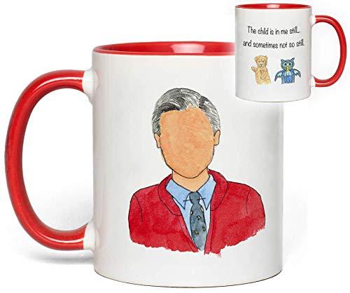 (Mr. Roger's Neighborhood Mug (Fred Rogers) Quote Fan Gift)