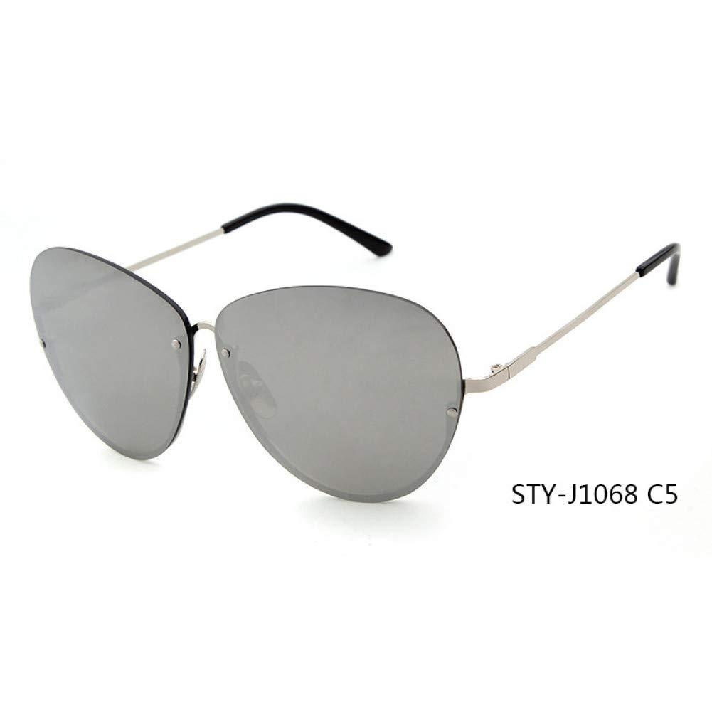 ZMYJX Gafas De Sol Marca Semi Sin Montura Gafas De Sol Mujer ...
