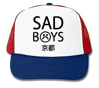 LukeTee Yung Lean Sad Boys Logo Gorra De Camionero Unisex One Size ...