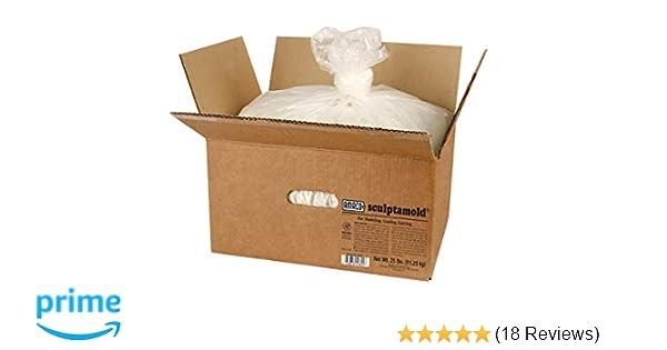 Amaco Plaster Sculptamold Modeling Compound 3lb-White
