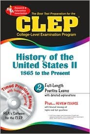 CLEP History of the United States II w/CD Publisher: Research & Education Association