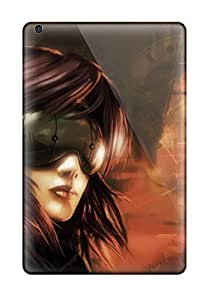 Ipad Mini/mini 2 Case Cover - Slim Fit Tpu Protector Shock Absorbent Case (ghost In The Shell)