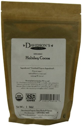 Davidson's Tea Bulk, Holiday Cocoa, 16-Ounce Bag