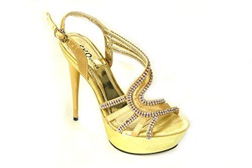 Gold caviglia da SKO'S alla ragazza' 235 donna Strap 5 xwYqFg