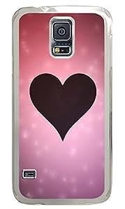 Samsung Galaxy S5 Love Silhouette PC Custom Samsung Galaxy S5 Case Cover Transparent