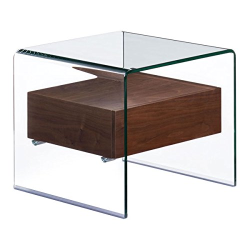 Zuo Shaman Side Table, Walnut