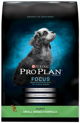 Purina Pro Plan Dry Puppy Food, Small Breed Formula, 6-Pound Bag, My Pet Supplies