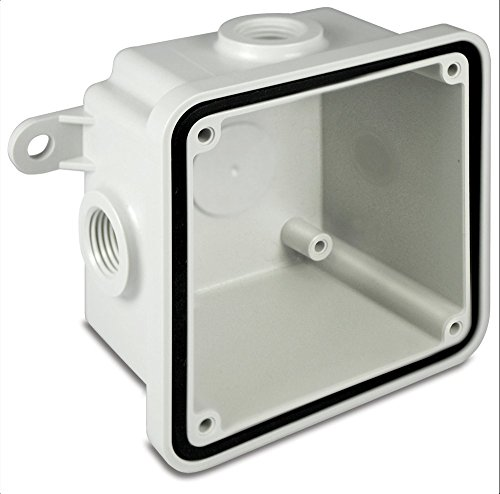Federal Signal WB-NM Non-Metallic Weatherproof Back Box Housing Accessory, Gray by Federal Signal