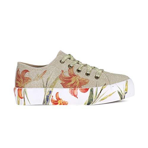Oro 37 Mujeres Dm933 Cafenoir Zapatos xqwvU1a