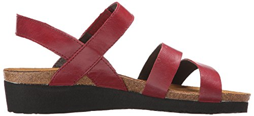 Leather Rumba Sandal Women's Wedge Naot Kayla 1wPUXqCI