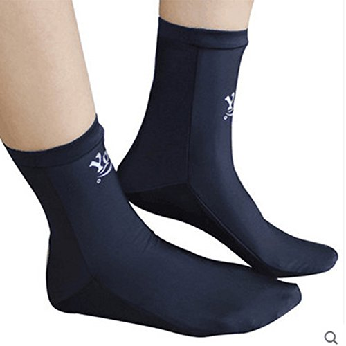 Bren SL Store Water Sports Swimming Dive Socks Neoprene Diving Swimming Fin Boot Socks, Black