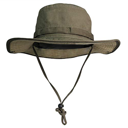 2a3e4f5d86a5d Phaiy Bucket Hat Wide Brim UV Protection Sun Hat Boonie Hats Fishing Hiking Safari  Hats for Men and Women