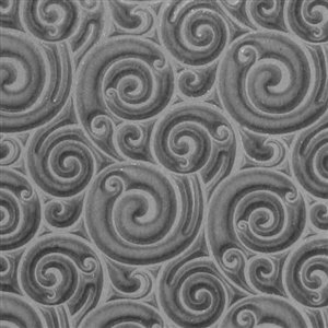 (Cool Tools - Flexible Rollable Texture Tile - Curly Spirals)