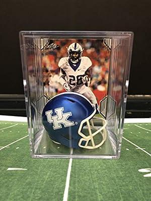 Kentucky Wildcats NCAA Helmet Shadowbox w/Benny Snell Jr. card