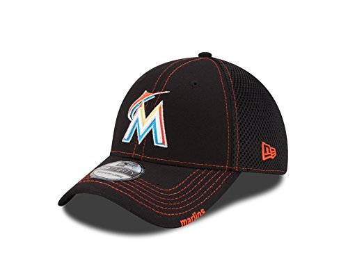 MLB Miami Marlins Neo, Black, LXL