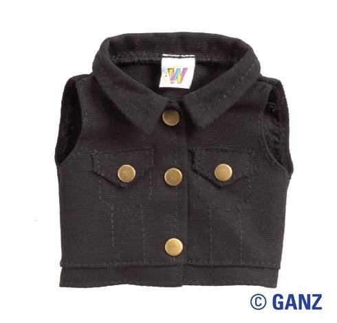 - Webkinz Clothes - Black Vest