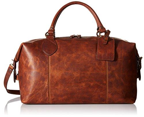 FRYE Men's Logan Overnight Duffle Bag, Cognac, One Size