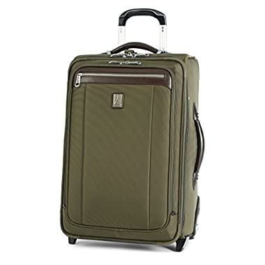 Travelpro Platinum Magna 2 22 Inch Express Rollaboard Suiter, Olive, One Size
