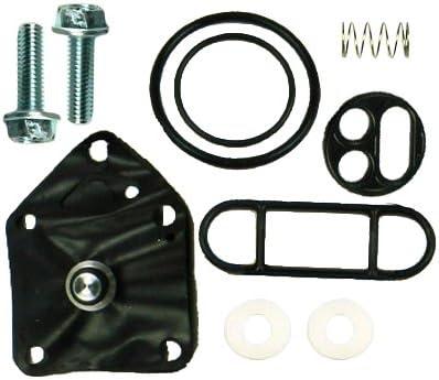 Outlaw Racing Fuel Petcock Valve Shut Off Repair Rebuild Kit Xt350F 94-00,YZ400F 98-99