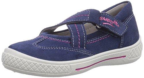 Superfit TENSY - Bailarinas de piel para niña azul - azul (water combi 88)