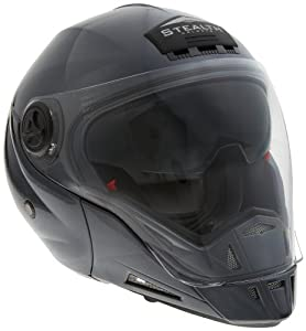 Amazon.com: Stealth Phantom Convertible Helmet (Grey Metallic, Medium
