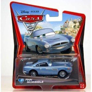 Disney / Pixar CARS 2 Movie 155 Die Cast Car #2 Finn McMissile V2799