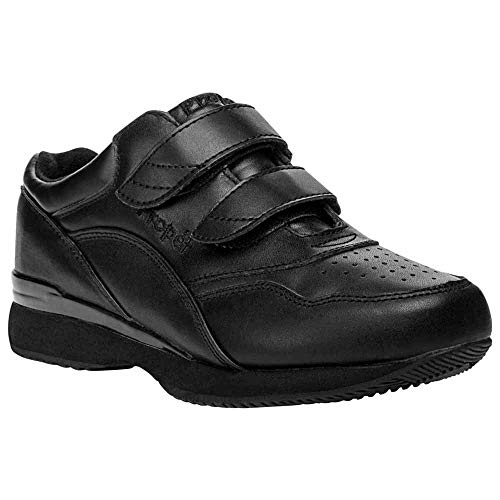 (Propet Women's Wide Propet Women's Tour Leather Walking Shoe, Black,8 1/2 Ww)