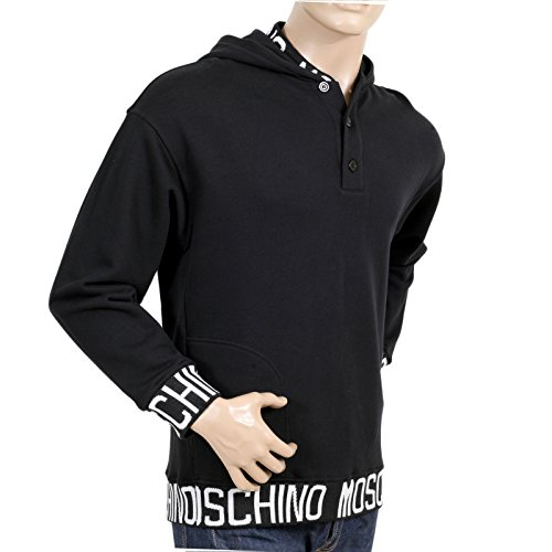 Moschino Herren T-Shirt schwarz schwarz