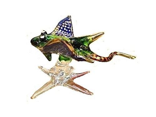 Handmade Stingray Art Art Glass Blown Sea Animal - Stingray Glass