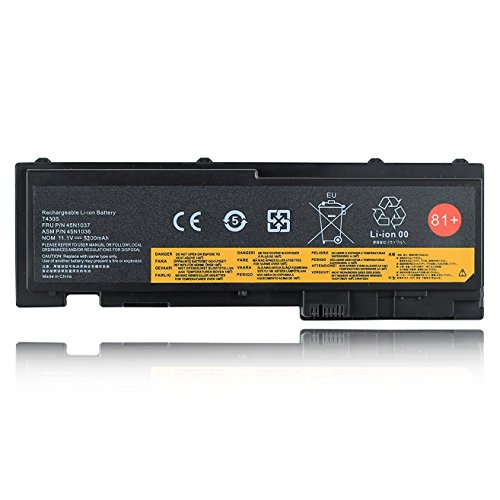 Batterymarket New 81+ Replacement Battery For Lenovo ThinkPad T420i T420s T430s 0A36287 42T4844 42T4845 42T4846 42T4847 45N1036 45N1037 45N1038 45N1039 45N1064 45N1065 45N1143 - 11.1V 5200mAh