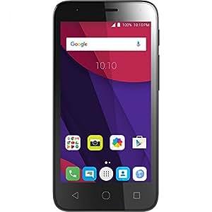 Alcatel Pixi 4 5-Inch 3G Unlocked Smartphone with 1 GB RAM, 8 GB ROM, No Warranty -Black