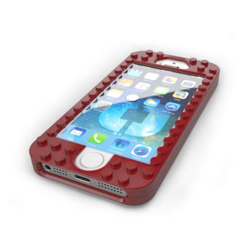 TinkerBrick Case for iPhone 5/5S (Red)