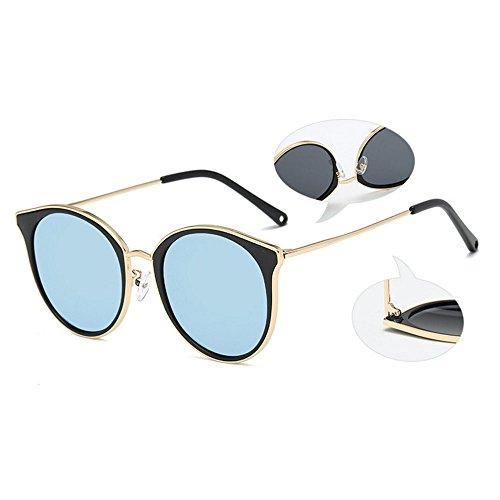 de miroir Lentilles blue chat d'oeil de plates I1nZwqP7