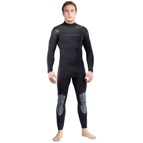 AKONA Mens 7mm Cold Water Full Suit. Quantum Stretch Neoprene. Designed to Keep You Warm in The Cold Water for Scuba, Snorkeling, Paddle Boarding, ...